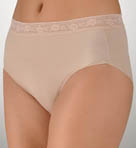 TC Fine Intimates Wonderful Edge Lace Trim Brief Panty A465