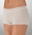 TC Fine Intimates Wonderful Edge Lace Trim Boyshort Panties A466