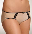 TC Fine Intimates Mesh And Lace Hipster Panty A483