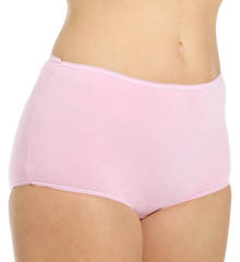 Cotton Full Cut Brief 4 Pack Panty