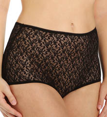 Teri Basic Lace Full Cut Brief Panties - 3 Pack 308
