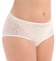 Basic Lace Hi-Cut Brief Panties - 3 Pack Image