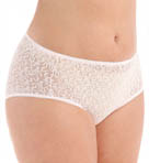 Basic Lace Hi-Cut Brief Panties - 3 Pack