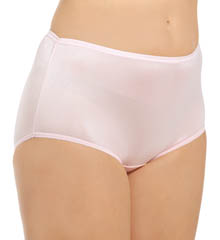 Full Cut Nylon Brief 4 Pack Panty