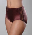 Teri Nylon and Lace Light Control Full Brief Panty 769