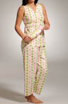 The Cat's Pajamas Polka Dots Cross-Front Capri Set 275-198