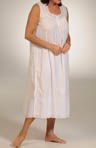 Sand Sleeveless Cotton Gown