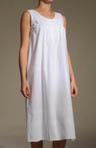 Maile Sleeveless Long Cotton Gown