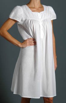 Opal Short Sleeve Gown