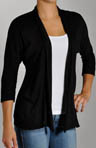 Red Dot Cotton 3/4 Sleeve Cardigan