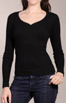 Long Sleeve 1 X 1 Henley Tee