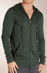 Zip Front Long Sleeve Hoodie