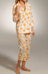 Three J Lemons & Oranges Capri PJ Kate