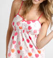 Three J Pink Apples Short and Tank Top Set Lucy4
