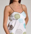 Three J Teal Dahlia Short and Tank Top Set Lucy6
