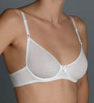 Timpa Cotton Underwire Demi Bra 00001