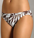 Jungle Fever Sash Waist Hipster Swimwear