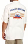 Tommy Bahama Barrel Blend Silk Diamond Twill Camp Shirt T35096