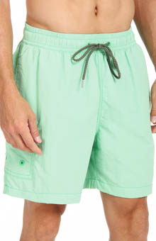 Happy Go Cargo Elastic Waist Swim Short