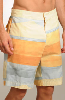 Block The Line Swim Short