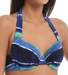 Tommy Bahama Water Waves Underwire Halter Swim Top TSW10260T