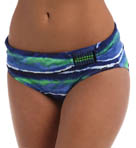 Tommy Bahama Water Waves High Waist w/ Beads Swim Bottom TSW10271B