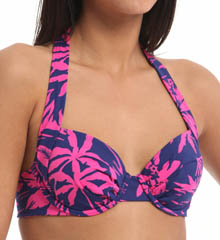 Tommy Bahama Sugar Shack Underwire Halter Swim Top TSW10420T