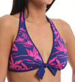 Sugar Shack Reversible Halter Swim Top Image
