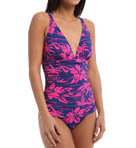 Tommy Bahama Sugar Shack V Neck Tummy Control One Piece TSW10440P