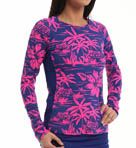 Tommy Bahama Sugar Shack Long Sleeve Rash Guard TSW10451C
