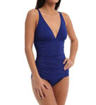 Pearl Solids Tummy Control One Piece Swimsuit Image