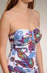 Zaffiro Paisley Bandini Swim Top