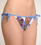 Zaffiro Paisley Tie Side Hipster Swim Bottom