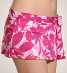 Floral Reef Skirted Hipster Swim Bottom