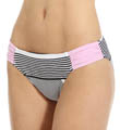 Tommy Bahama Slanted Stripes Side Shirred Hipster Swim Bottom TSW24109B