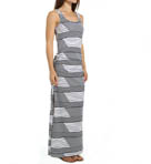 Slanted Stripes Tank Maxi Dress Image