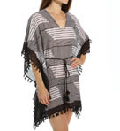 Slanted Stripes Oversized Tunic Image
