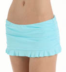 Pearl Solids Skirted Hipster Ruffled Swim Bottom Image