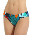 Tommy Bahama Tropical Leaf Side Shirred Hipster Swim Bottom TSW25306B