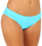 Pearl Solids Side Shirred Hipster Swim Bottom Image