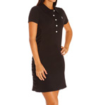 Side Shirred Collared Dress Image