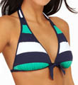 Mare Rugby Stripe Reversible Halter Swim Top Image