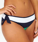 Mare Rugby Stripe Reverse Tie Hipster Swim Bottom Image