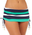 Mare Rugby Stripe Shirred Hipster Swim Bottom Image