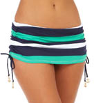 Tommy Bahama Mare Rugby Stripe Shirred Hipster Swim Bottom TSW35508B