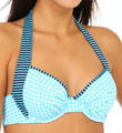 Baia Hot Dot & Stripe Underwire Swim Top Image