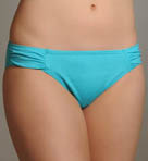 Pearl Islands Side Shirred Hipster Swim Bottom