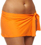 Pearl Solids Skirted Hipster Swim Bottom