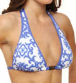 Medallion Halter With Beads Swim Top Image