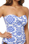 Medallion Twist Bandini Swim Top